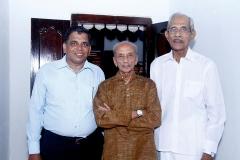 CA B Jayarajan Fca with Mr.V.N.Rajan, IPS & Mr.Justice Chettur Sankaran Nair