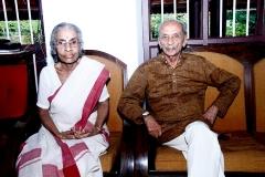 Mr.V.N.Rajan, IPS with his wife Mrs. Thankam Rajan