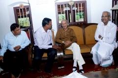 With B Jayarajan Fca and Prem Nath