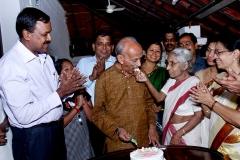 offering cake
