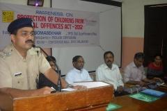 Dy.S.P Mr.Shanavas inaugurated the program