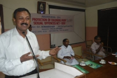 Mr.P.Prem Nath, APP & Secretary, VISWAS — at District Police Office, Palakkad .