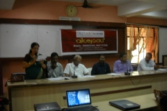 Adv.S.Santha Devi, Former AGP & Managing Committee Member of VISWAS delivers Welcome Speech