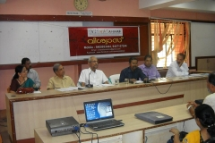 Presidential Address by Mr.K.Ramachandran,IAS, Dist. Collector & President, VISWAS