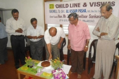 Cake cutting by Dist Collector