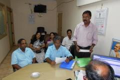 Report by Secretary P.Prem Nath