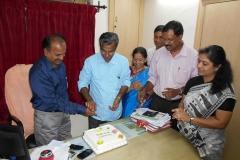 With Adv Santha Devi, Thomas George K, Prem Nath and Adv Reena Jaijith.