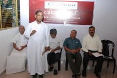 Felicitation Dr.Fr.Jose Paul, Chairman of Child Welfare Committee, Palakkad