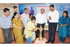 Inauguration of VISWAS by the renowned Social Worker Dr.Sunitha Krishnan