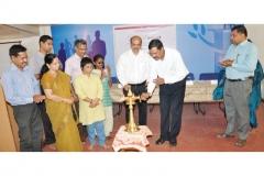 Lighting the Lamp by Mr.P.Prem Nath,APP & Secretary, VISWAS