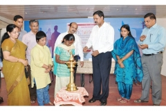 Lighting the Lamp by Ms.Alfonsa, a Victim of Acid Burns with CA B. Jayarajan & Adv.S.Santha Devi