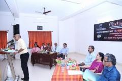 Inauguration of VISWAS Volunteer Group at Chathamkulam Business School by Mr.Sreejith IPS IG