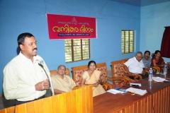 Presidential Address — with Prem Nath.