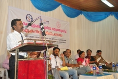 Dist.Collector Mr.K.Ramachandran, IAS delivering the Introductory remarks