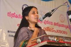 Mathrubhumi Staff reporte MrsBeena Govind on Child,Family & Society