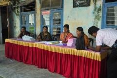 Registration Counter — with radhika somnath and Radhika Som Radhika.