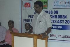 Dr.Sivasankaran, Dy,DMO inaugurating the event