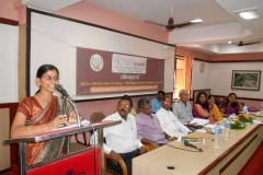 Address by Adv. Aparma Legal Cum Probation Officer, DCPU, Palakkad — with Aparna Narayanan.