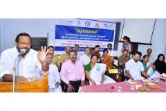 Dy.Speaker Sri.Palode Ravi inaugurates the Dist. Level Program of YUVA SANDHESH